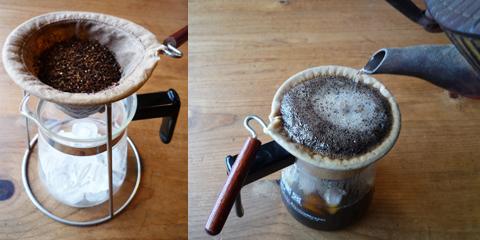 コーヒー,ネルドリップ,アイスコーヒー