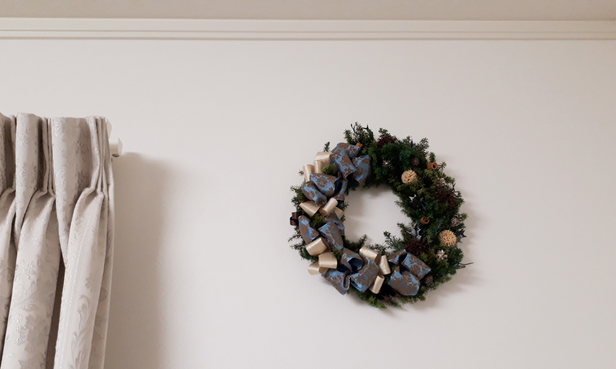 クリスマスリース リース