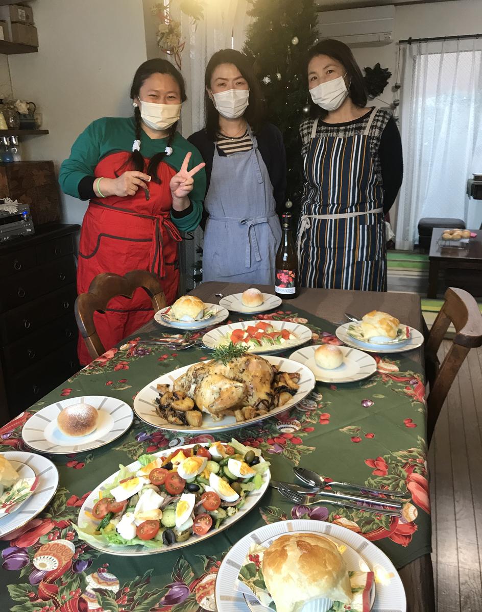 お料理教室  横浜 クリスマスごはん  クリスマスディナー  ローストチキン #チキンのグリル #きのこのパイスープ  パイスープ横浜 #クリスマスごはん #クリスマスディナー #ローストチキン #チキンのグリル #きのこのパイスープ  パイスープ