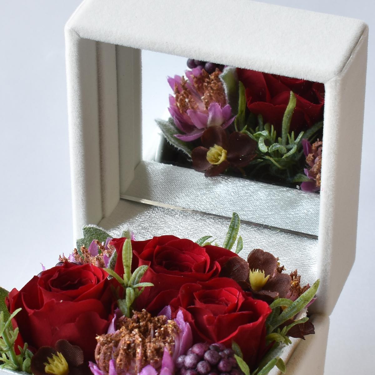 バラのジュエリーボックス