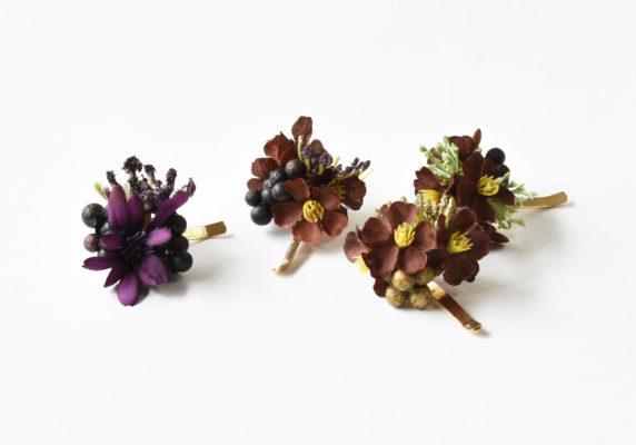 ポニーフック,お花のポニーフック,秋色